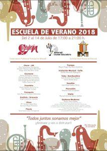 Escuela de Música de Verano @ Escuela de Música de Almoradí