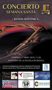Concierto de Semana Santa - Banda Sinfónica @ Auditorio de la Escuela de Música