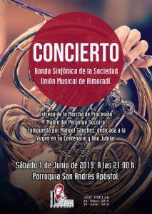 Concierto Clausura del Año Jubilar del Perpetuo Socorro - Banda Sinfónica @ Iglesia Parroquial San Andrés Apostol | Almoradí | Comunidad Valenciana | España