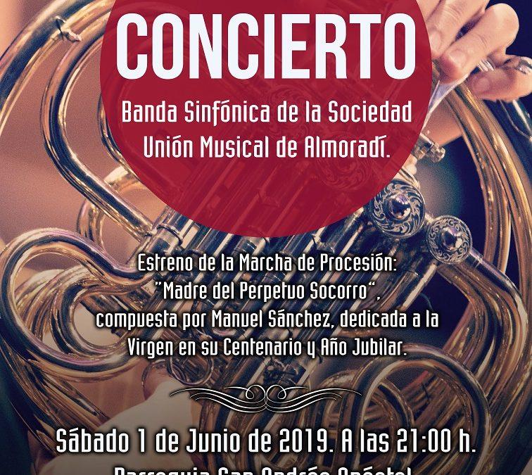 Concierto Clausura del Año Jubilar del Perpetuo Socorro – Banda Sinfónica