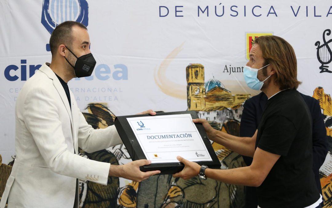Con la UNIÓN MUSICAL a ALTEA